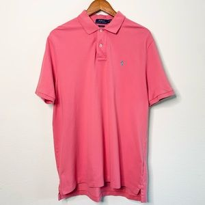 Polo by Ralph Lauren Classic Fit Pink Shirt